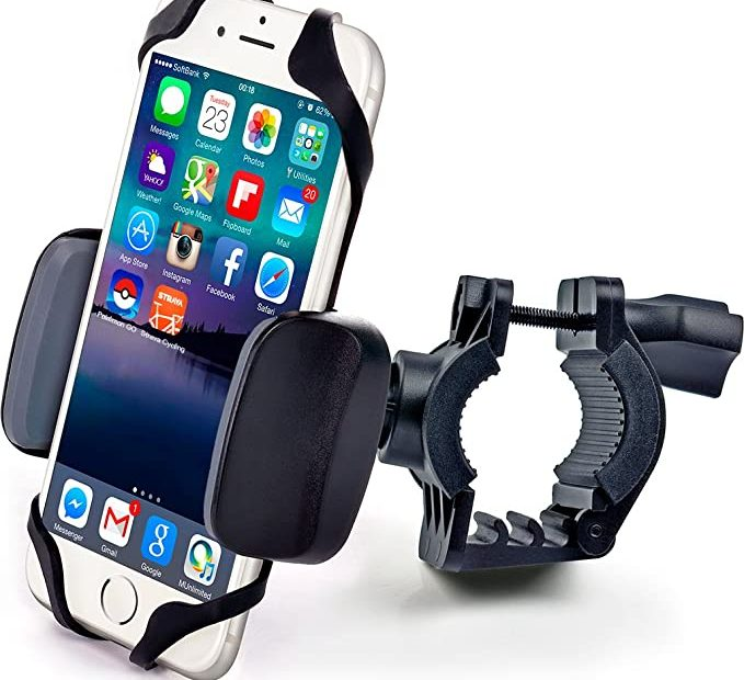 Handlebar mount for any phone