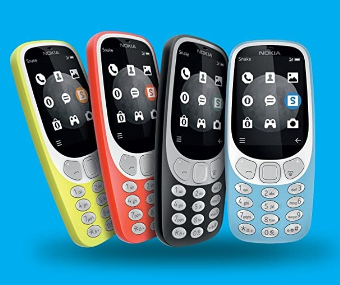 The Nokia 3310 vintage phone renewed