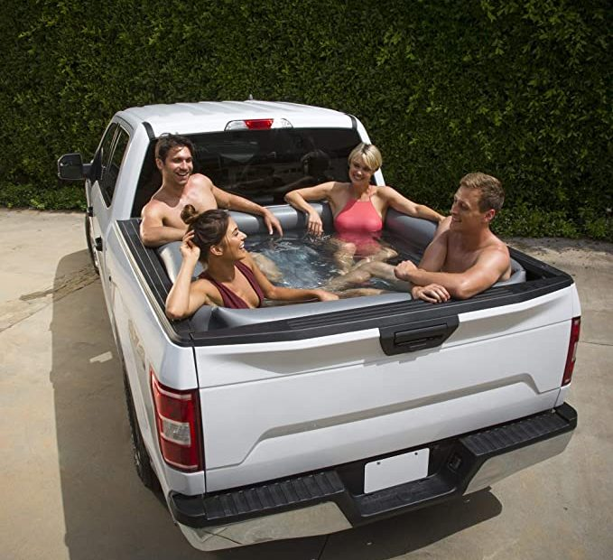 Truck bed pool