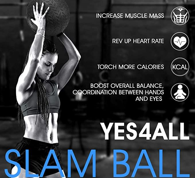 Slam ball exercise ball
