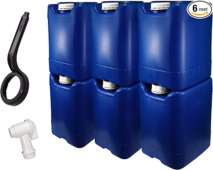 Water storage for prepping