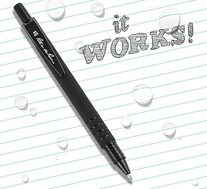 All weather pen