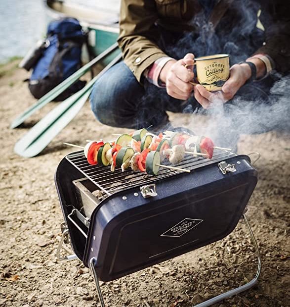 Portable stainless grill