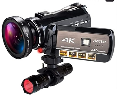 4K Wifi camcorder, ghost hunting devices, Staunton VA, Jedediah Hotchkiss, Stonewall, Civil War, ghost tours