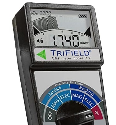 Trifield meter, UFOs, EM and RF fields, meters, scientific studies of UFOs
