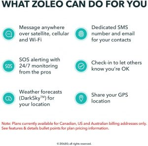 what Zoleo does for you.