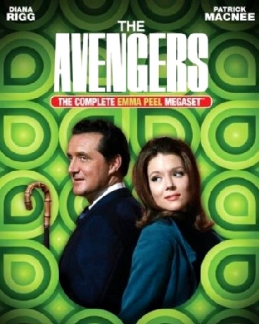 Dame Diana Rigg, Emma Peel, megaset, alpha females, the Avengers, dominant females, sexual subtext, cultural evolution