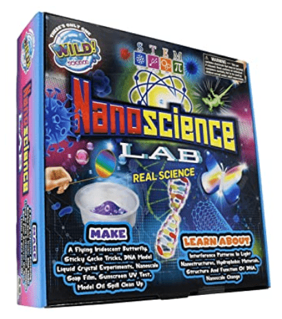 nanometer scale, nanoscience lab for kids, light speed, one billionth of one mater, 299,792,458, light waves, brain science