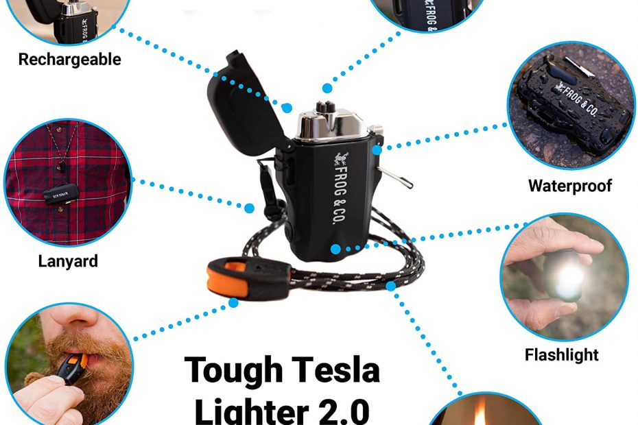 TESLA WATERPROOF WINDPROOF PLASMA LIGHTER