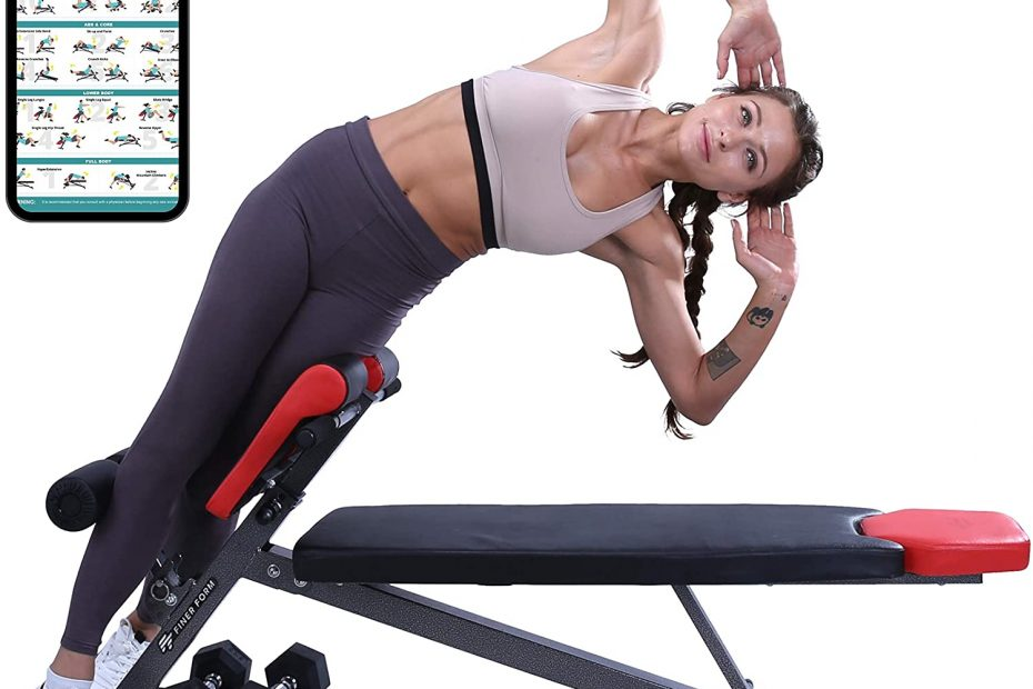 Multi-Functional Weight Bench for Full All-in-One Body Workout