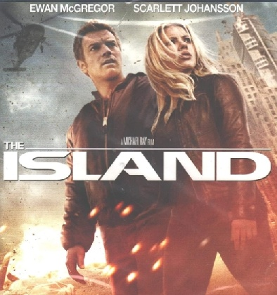The Island, Scarlett Johansson, Evan McGregor, virtual reality, artificial intellilgence, AI, organ harvesting, biomarkers, surveillance state, lack of control on data sharing