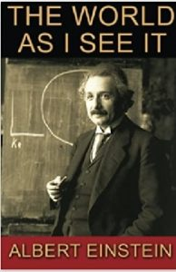 The world's all askew, it's 2021, einstein, the world as I see it, relativity, gravity, information